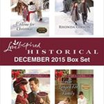[PDF] [EPUB] Love Inspired Historical December 2015 Box Set: A Home for Christmas\The Holiday Courtship\A Convenient Christmas Bride\Her Longed-For Family (Christmas in Eden Valley) Download