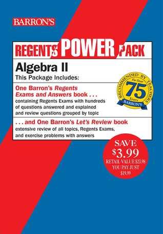[PDF] [EPUB] Regents Algebra II Power Pack: Let's Review Algebra II + Barron's Regents Exams and Answers: Algebra II Download by Gary M. Rubinstein