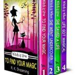 [PDF] [EPUB] A Witch Detective Cozy Mystery Series Boxset: Books 1-4 Download