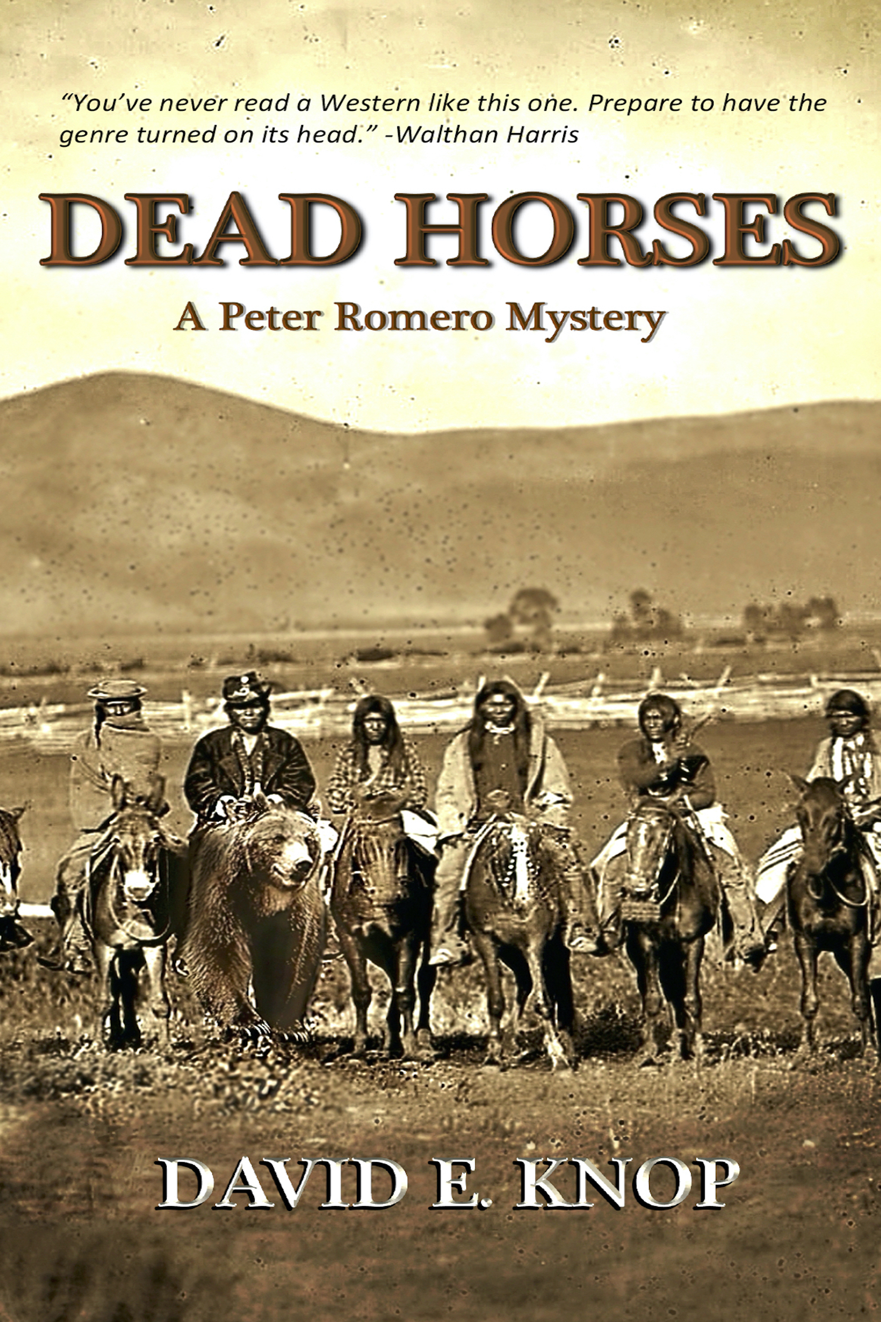 [PDF] [EPUB] Dead Horses: A Peter Romero Mystery Download by David Knop