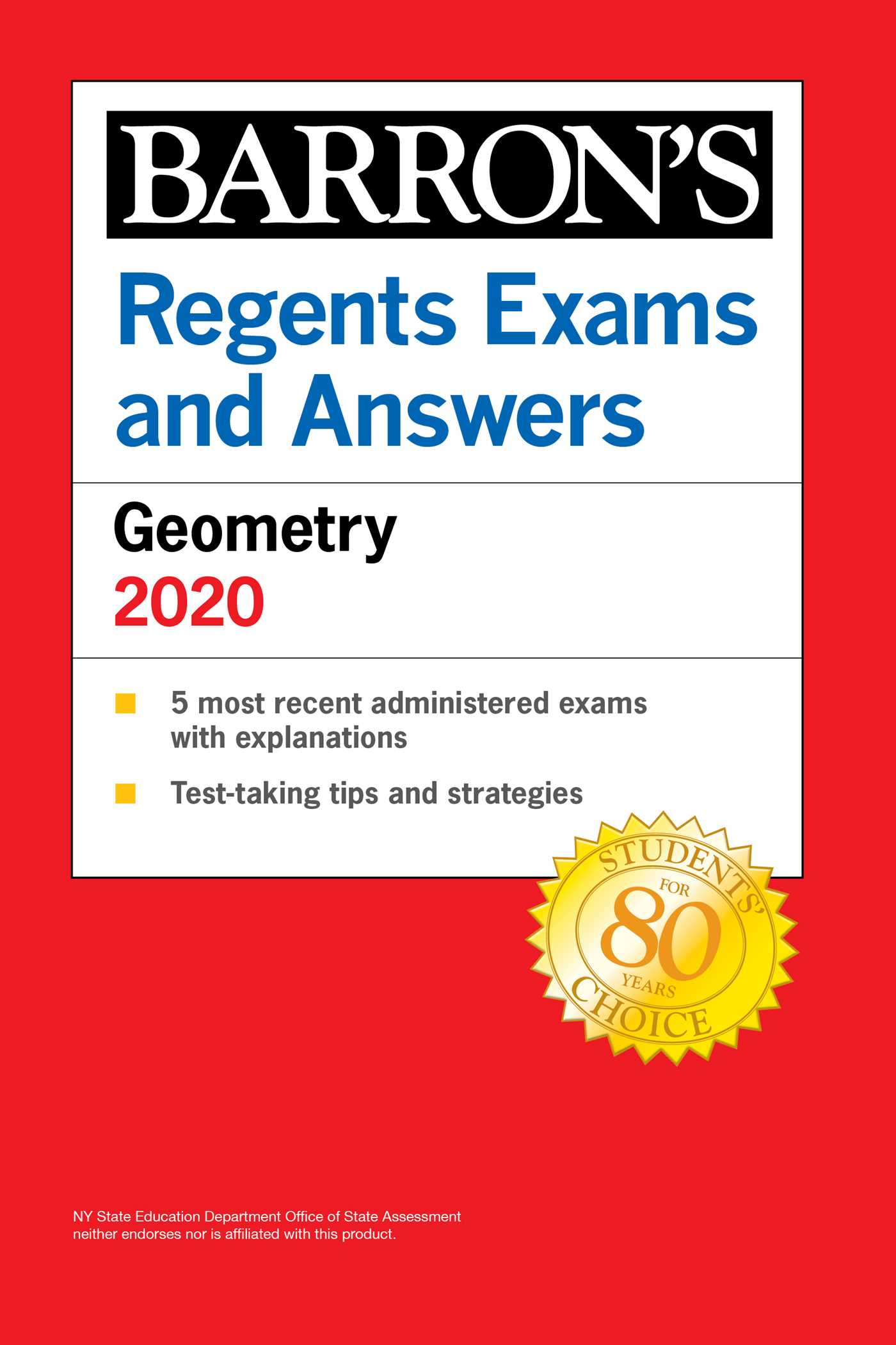 [PDF] [EPUB] Regents Exams and Answers Geometry 2020 Download by Andre Castagna