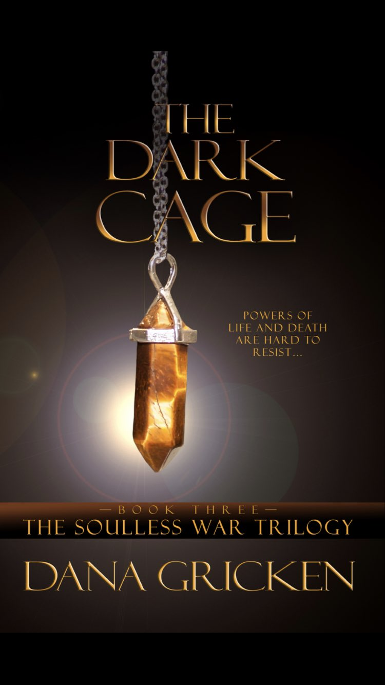 [PDF] [EPUB] The Dark Cage (The Soulless War Trilogy, #3) Download by Dana Gricken