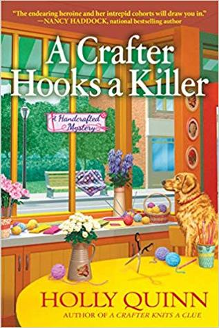 [PDF] [EPUB] A Crafter Hooks a Killer (A Handcrafted Mystery #2) Download by Holly Quinn