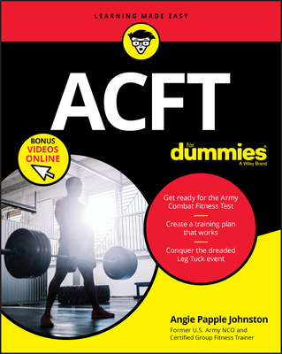 [PDF] [EPUB] Acft for Dummies, Book + Video Download by Angie Papple Johnston