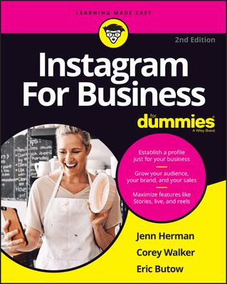 [PDF] [EPUB] Instagram for Business for Dummies Download by Jennifer Herman