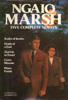 [PDF] [EPUB] Ngaio Marsh: 5 Complete Novels (Scales of Justice; Death of a Fool; Tied up in Tinsel; Grave Mistake; Photo Finish) Download by Ngaio Marsh