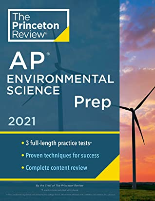 [PDF] [EPUB] Princeton Review AP Environmental Science Prep, 2021: 3 Practice Tests + Complete Content Review + Strategies and Techniques (College Test Preparation) Download by The Princeton Review