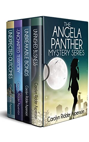 [PDF] [EPUB] The Angela Panther Mystery Series (Angela Panther #1-4) Download by Carolyn Ridder Aspenson