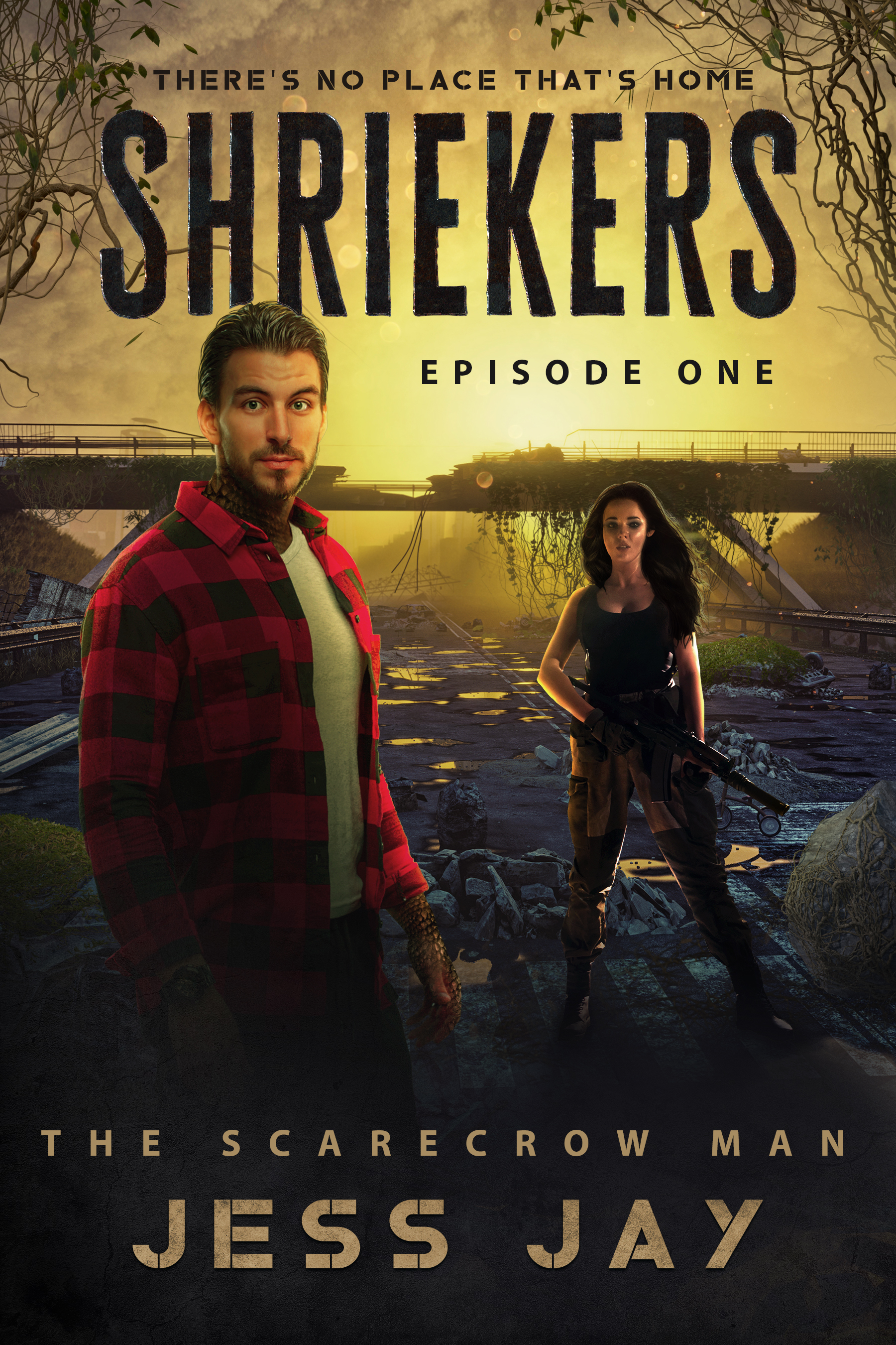 [PDF] [EPUB] The Scarecrow Man (Shriekers: The Golden Highway #1) Download by Jess Jay